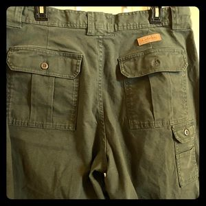 Cabela's 7 Pocket Hikers pants. Green 18
